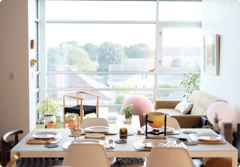 Modern organized home