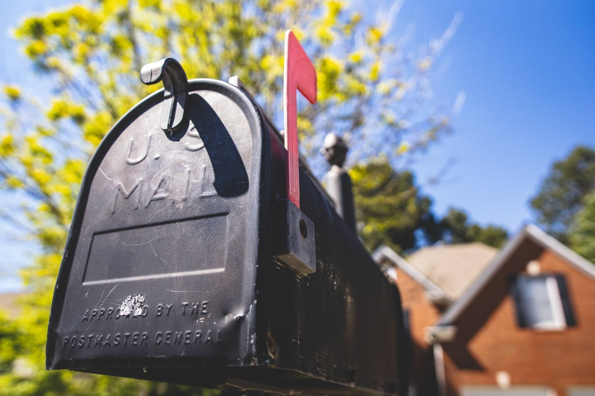 Forward your mail when you move