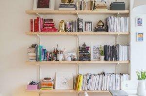 stylish bookshelf 300x199
